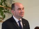 Burmistrz Błażowej Jerzy Kocój.